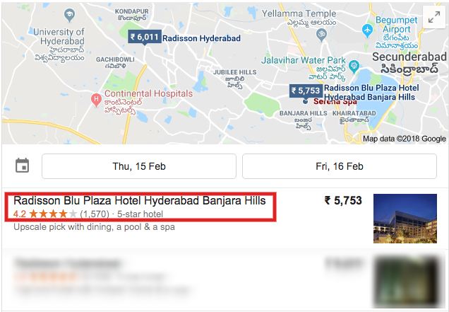 interaction with customers through google maps